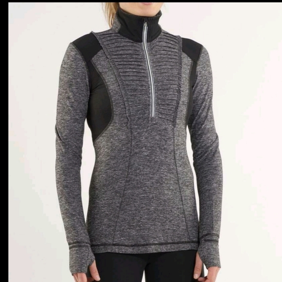 ,Lululemon Run: Your Heart Out Pullover  EEUC